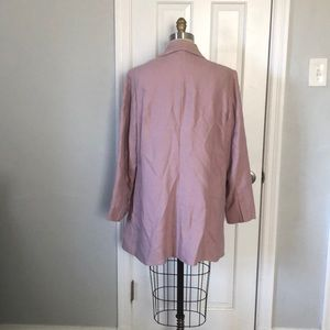 Soft Surroundings Jackets & Coats - Soft Surroundings Dusty Pink Blazer